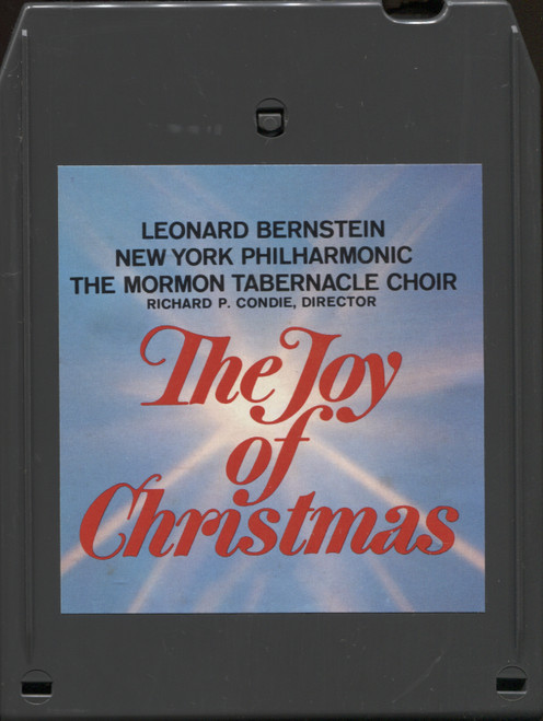 New York Philharmonic & Mormon Tabernacle Choir: The Joy of Christmas - 8 Track Tape
