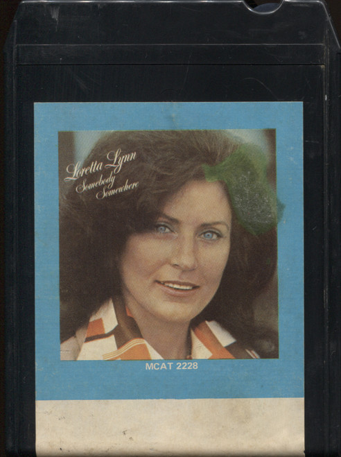 Loretta Lynn: Somebody Somewhere - Vintage 8 Track Tape