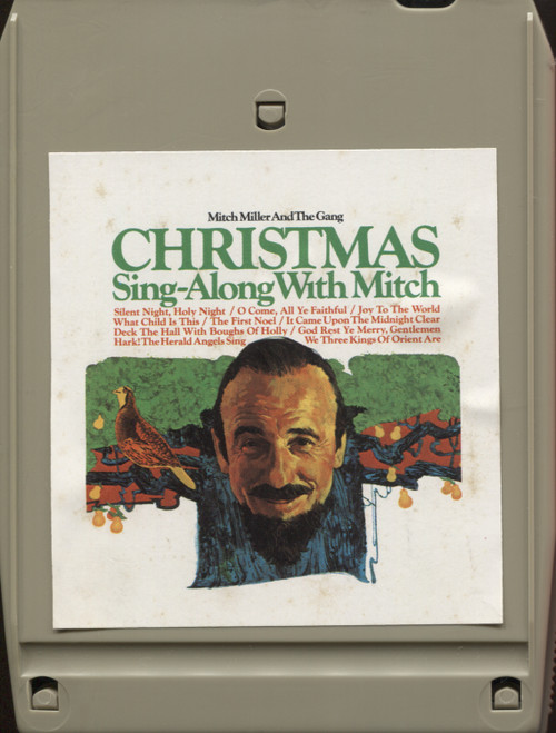 Mitch Miller and the Gang: Christmas Sing-Along with Mitch - 8 Track Tape