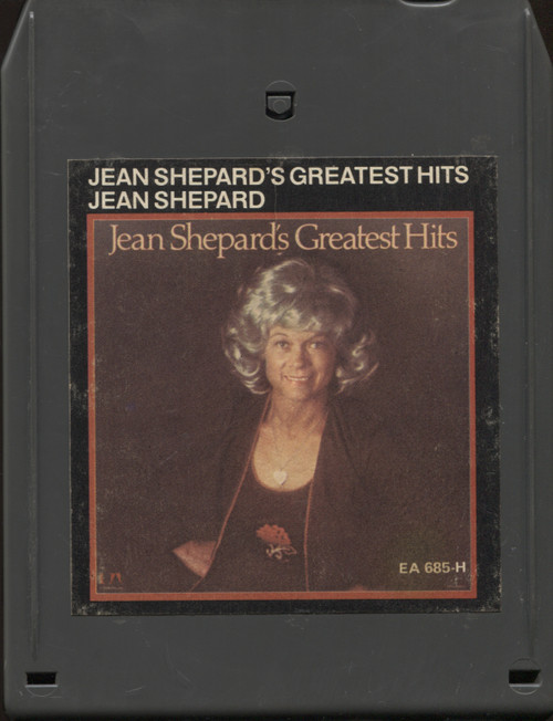Jean Shepard: Greatest Hits - 8 Track Tape