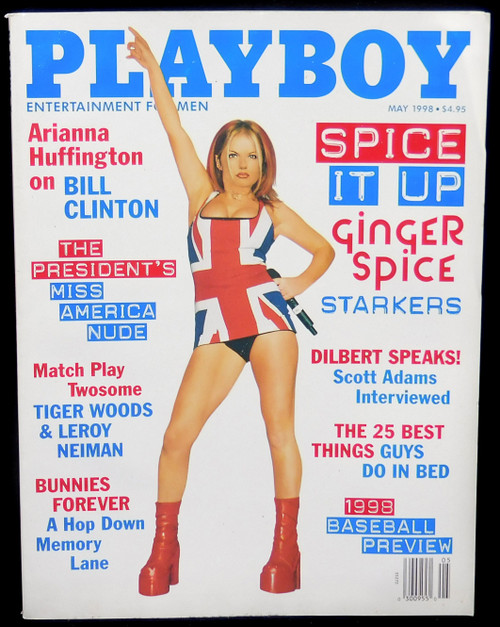 May 1998 - Playboy Magazine - Adult Men's Publication Back Issue