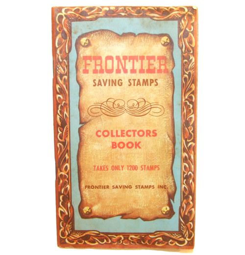 Frontier Saving Stamps Collectors Book