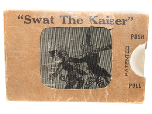 Novelty Card Swat the Kaiser Over the Top Animated World War I