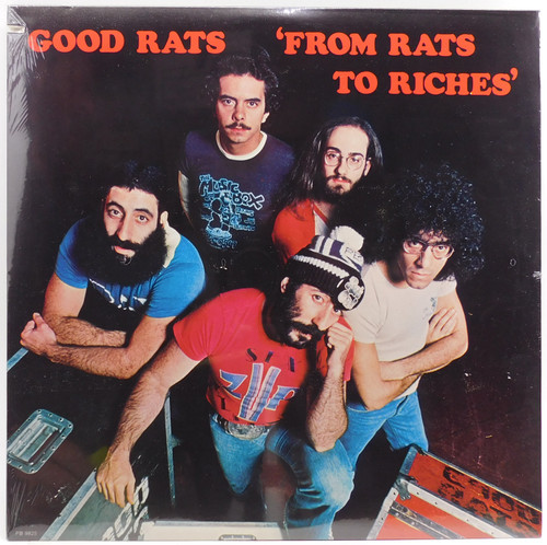 Good Rats: From Rats to Riches - Factory Sealed LP Vinyl Record Album
