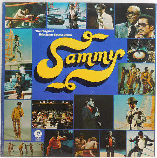 Sammy Davis, Jr.: Sammy, Original Television Soundtrack - LP Vinyl Record Album