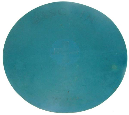 Antique 1950's Oberhansly Disc-In Rubber Frisbee