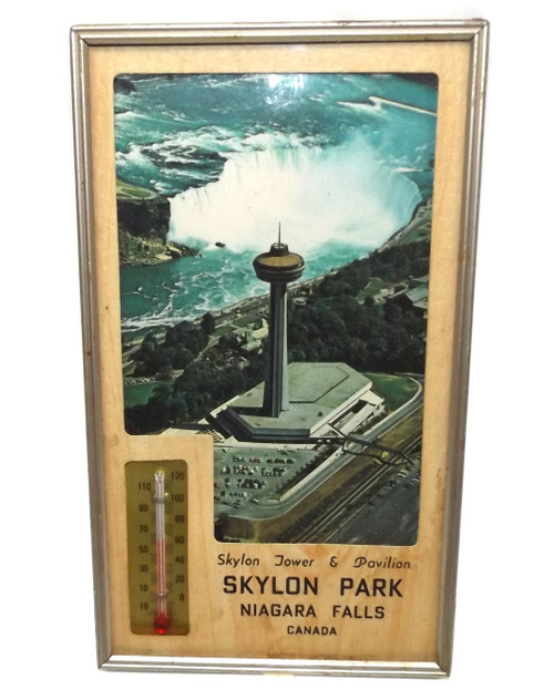 Vintage Skylon Tower Park Advertising Thermometer - Niagara Falls, Canada