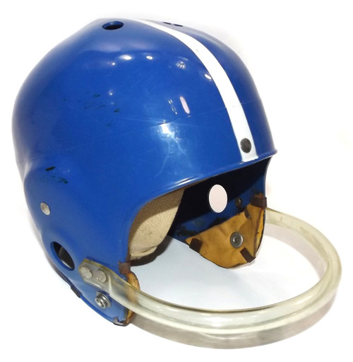 Vintage Youth Football Helmet with Punter Style Face Guard