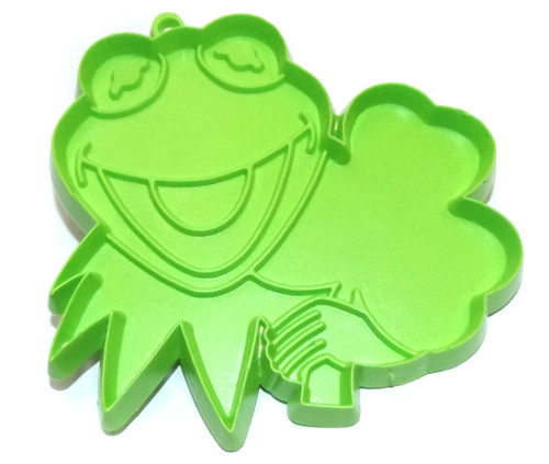 Vintage Hallmark Kermit the Frog with Good Luck Clover Muppets Cookie Cutter