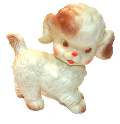 Vintage Ruth Newton Sun Rubber Co. Puppy Dog Squeaky Toy