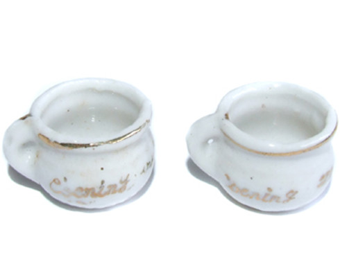 Made in Japan Novelty World's Smallest Receiving Set Miniature Chamber Pots