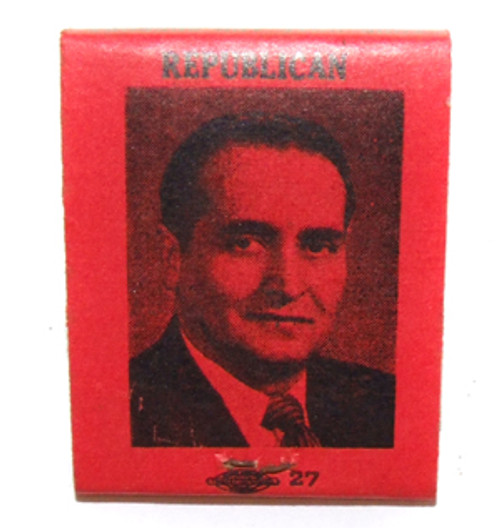 Vote for Bill Hulton Republican Council Candidate Matchbook Jefferson County, PA