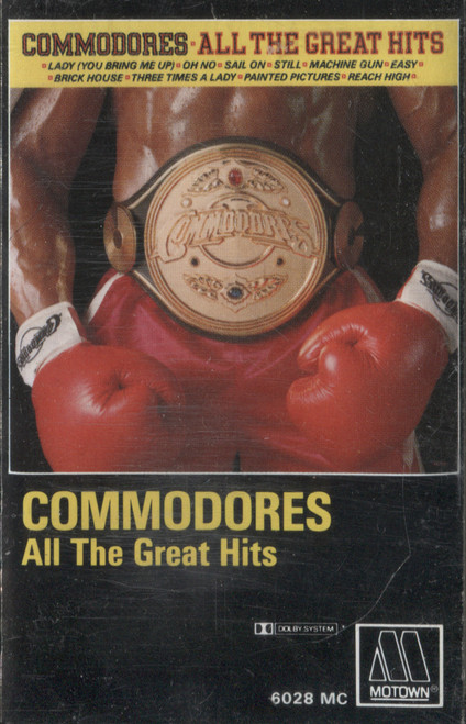 Commodores: All the Great Hits - Audio Cassette Tape