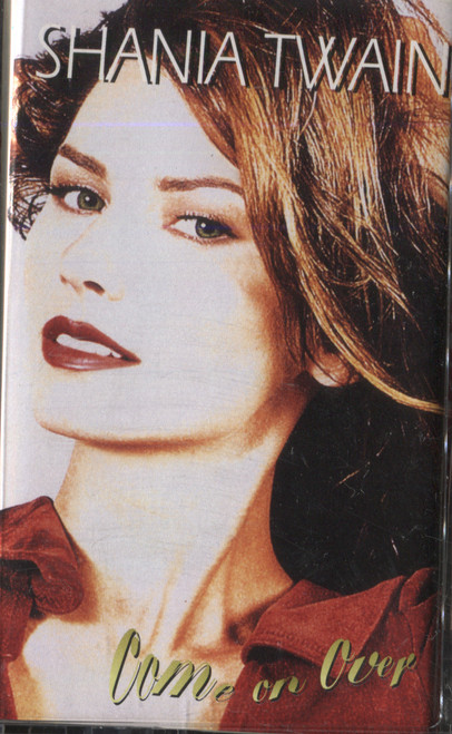 Shania Twain: Come on Over - Audio Cassette Tape