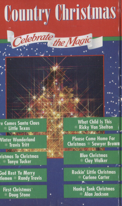 Various Artists: A Country Christmas  - Audio Cassette Tape