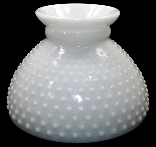 Vintage Fenton Hobnail Milk Glass Light Lamp Shade Replacement Globe