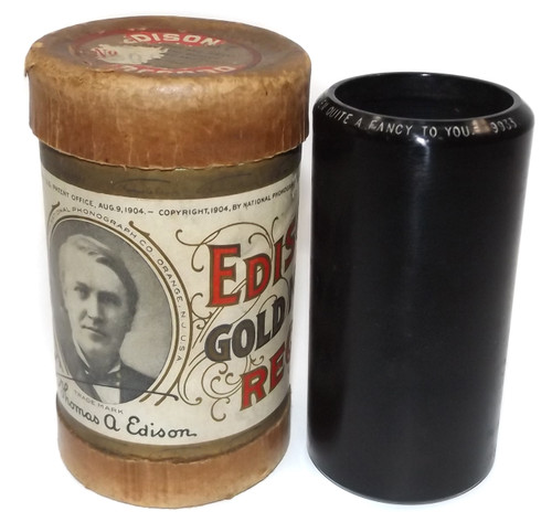 Ada Jones & Billy Murray: I've Taken Quite a Fancy to You - #9933 Edison Wax Cylinder Record