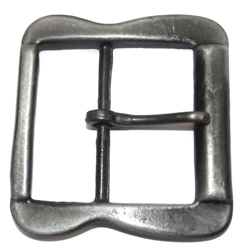 Vintage Simple Chrome Belt Buckle - Great for Crafting Studio Projects