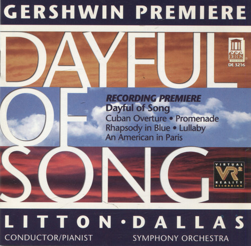 Dallas Symphony Orchestra: Gershwin Premiere Dayful of Spring - CD / Compact Disc