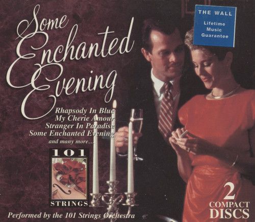 101 Strings: Some Enchanted Evening - 2 CD Set / Compact Disc