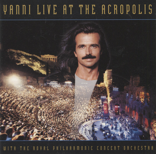 Yanni & Royal Philharmonic Concert Orchestra: Live at the Acropolis - CD / Compact Disc