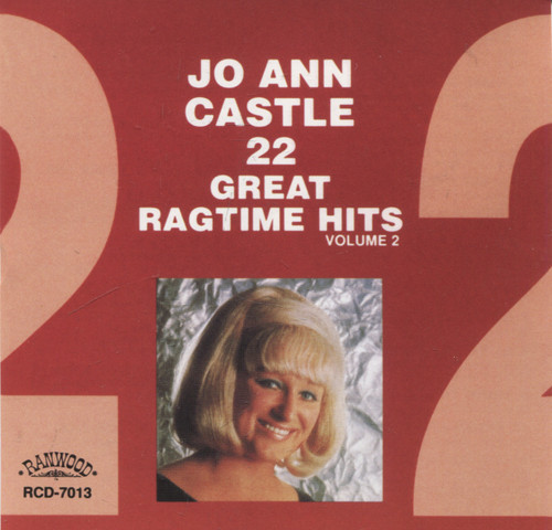 Jo Ann Castle: 22 Great Ragtime Hits - CD / Compact Disc