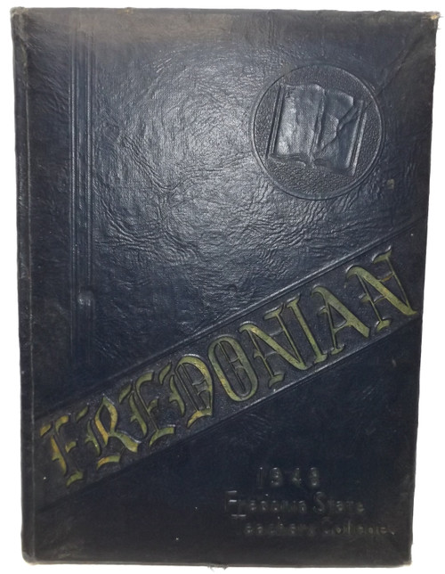 Vintage 1948 Fredonian - Fredonia State Teachers College Yearbook - Fredonia, NY