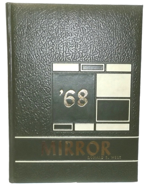 Vintage 1968 Mirror - Little Valley Central School Yearbook - Little Valley, NY