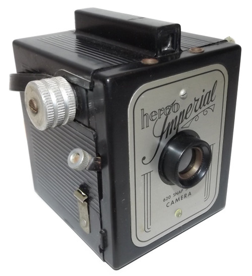 Vintage Herco Imperial 620 Snap Shot Box Film Camera