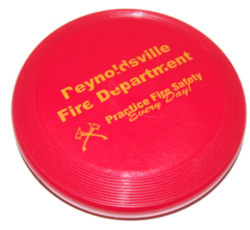 Reynoldsville Fire Department Fire Safety Frisbee - Reynoldsville, PA