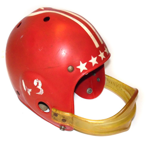 Vintage Franklin Youth Football Helmet with Solid Facemask