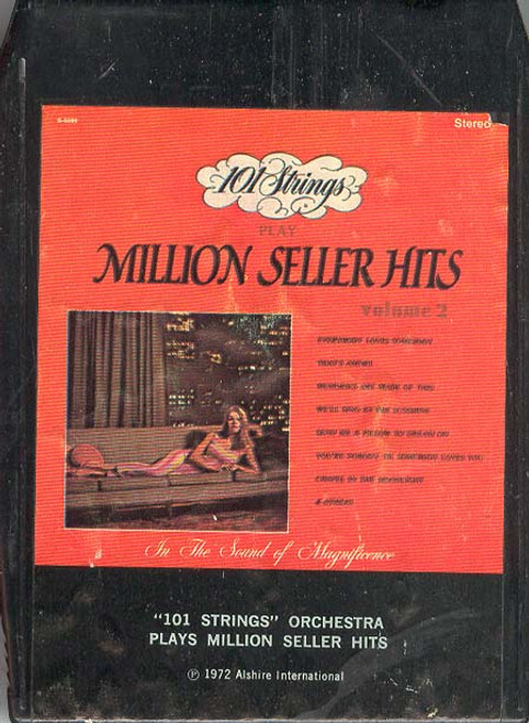 101 STRINGS ORCHESTRA: Plays Million Seller Hits