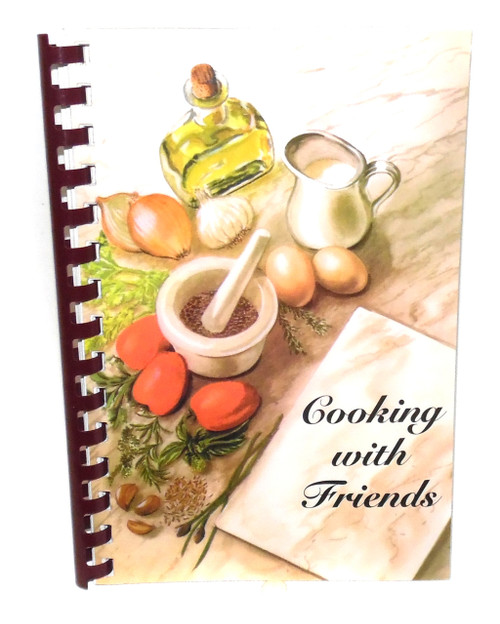 Vintage Cooking with Friends Cookbook, Brookville Assembly #123 - Brookville, PA