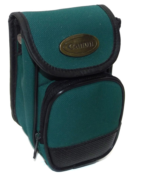Vintage Canon Nylon Compact 35mm Film Digital Camera Field Case Carry Pouch with Belt Loop