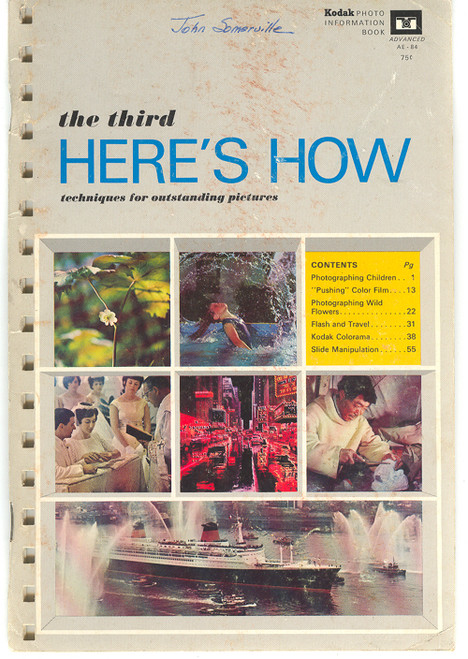 1968 Kodak The Third Here's How Techniques for Outstanding Pictures - Photography Book