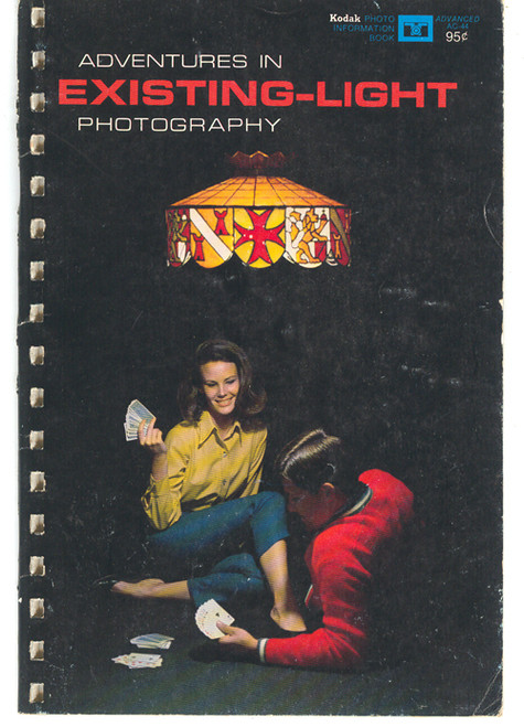 1969 Kodak Adventures in Existing-Light Photography - Photography Book