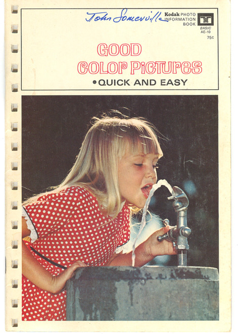 1969 Kodak Good Color Pictures Quick and Easy - Photography Book