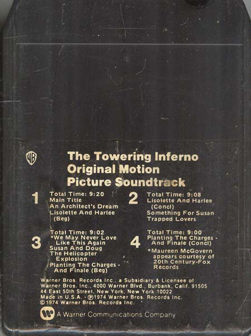 The Towering Inferno - Original Motion Picture Soundtrack -33219