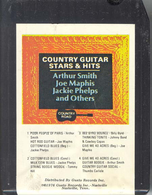 Country Guitar Stars & Hits (Various Artists)