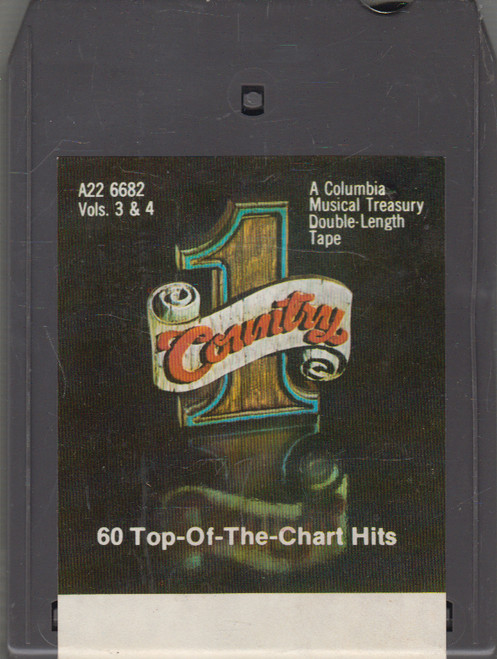 #1 Country, 60 Top-of-the-Chart Hits - Volumes 3 & 4