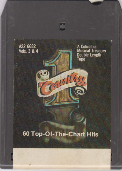 #1 Country, 60 Top-of-the-Chart Hits - Volumes 3 & 4 -3258