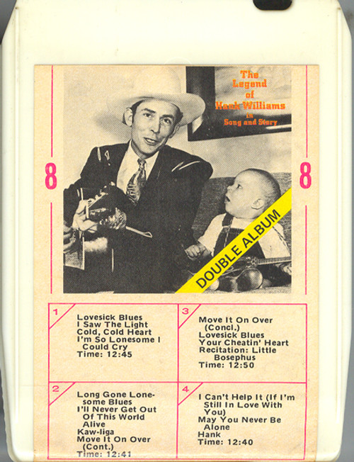 Hank Williams Sr. & Hank Williams Jr.: The Legend of Hank Williams in Song and Story