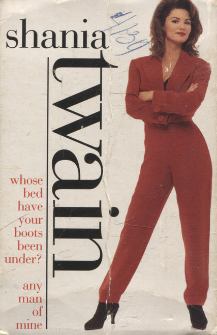 Shania Twain: Whose Bed Have Your Boots Been Under? / Any Man of Mine - Audio Cassette Tape Single