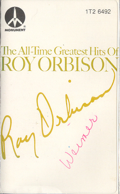 Roy Orbison: The Greatest Hits of Roy Orbison Cassette Tape