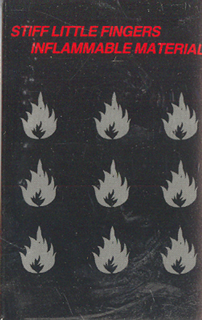 Stiff Little Fingers: Inflammable Material -28511 Cassette Tape
