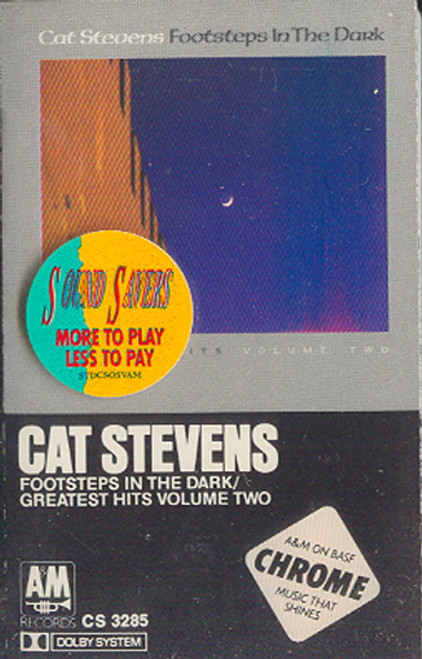 Cat Stevens: Footsteps in the Dark / Greatest Hits #Two Cassette Tape