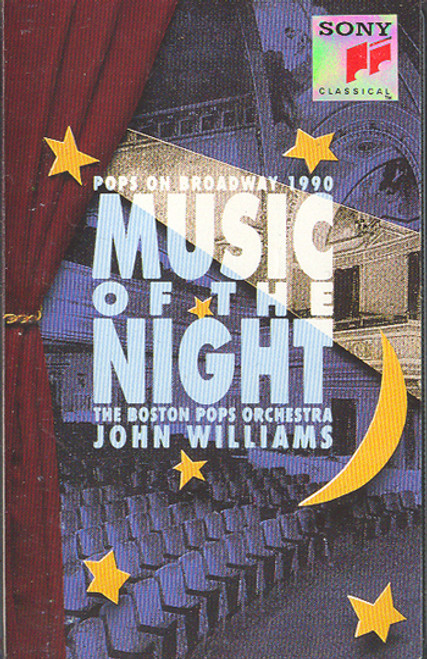 Boston Pops Orchestra: Music of the Night Cassette Tape