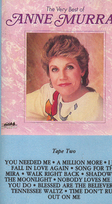 Anne Murray: The Very Best of Anne Murray - #2 -7096 Cassette Tape
