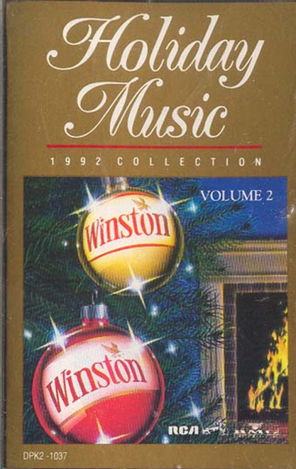 Holiday Music - 1992 Collection (Winston Christmas Collector Album) Cassette Tape
