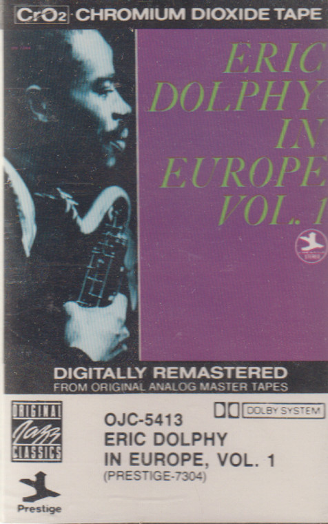 Eric Dolphy: In Europe - #1 -13441 Cassette Tape